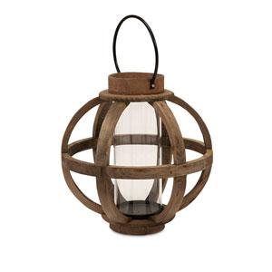 Garrett Brown Wood Lantern
