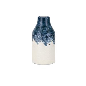 Nirra Small Vase in Blue