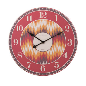 Essentials Energetic Orange Wall Clock