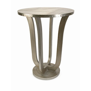 Jensen Grey Aluminum Clad Table