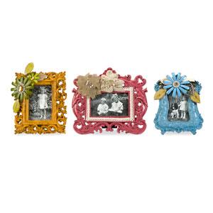 Abbbott Embellished Photo Frames - Set of Three