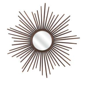 Berrak Bronze Starburst Mirror