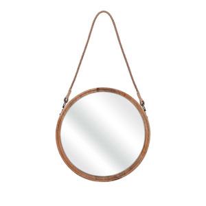 Senga Brown Large Wood Mirror