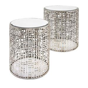 Evans Mirror Tables, Set of 2