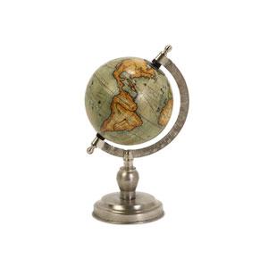 Colombo Small Globe With Nickel Finish Base