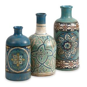 Kabir Blue Hand Painted Bottle