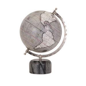 Rada Grey Globe with Marble Base