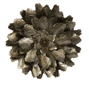 Moray Bronze Wall Flower