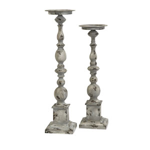 Hamilton Candle Holders - Set of Two