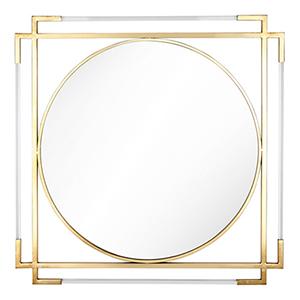 Verona Gold Acrylic Mirror