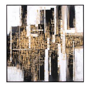 Urbane Framed Oil Painting