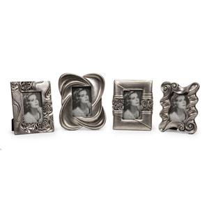 Handsel Silver Frames, Set of Four