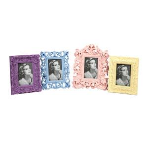 Patisserie Multicolor Frames, Set of Four