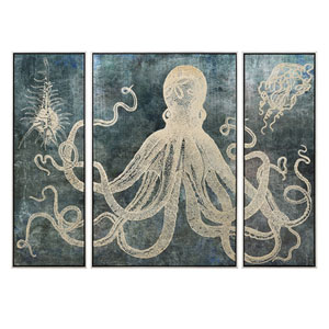 Dorado Triptych Wall Decors with Frame