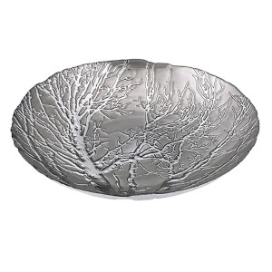 Silver Ethereal Tree Bowl Plate