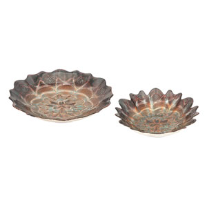 Valenciano Glass Bowls  Set of 2