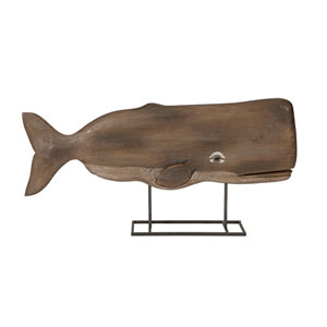 Achilles Wood Whale Statuary