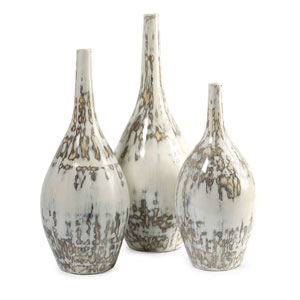 Hampton Mexican Pottery Vases - Set of Three