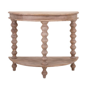 Callie Blonde Wood Console
