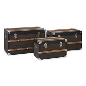 Schultz Trunks, Set of 3