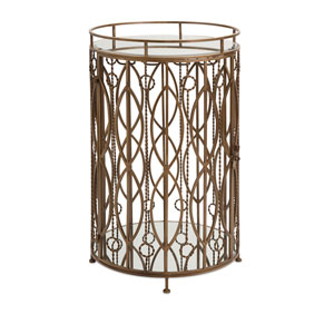 Verona Gold Accent Table Bar