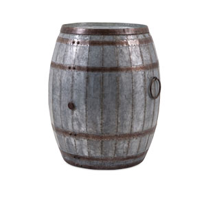 Vineyard Wine Barrel Storage Table