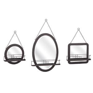 Ella Elaine Shaving Mirrors , Set of 3
