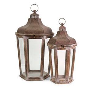 Layla Oversized Lanterns - Set of Two