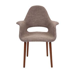 Bowden Grey Retro Accent Chair