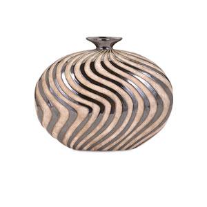 Leza Small Swirl Earthenware Vase