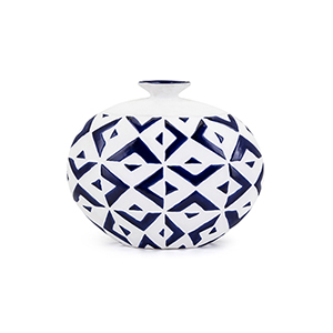 Gwenyth Small Vase in Blue