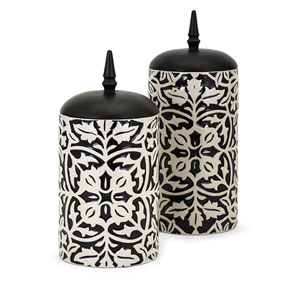 Nola Canisters, Set of 2