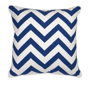 Essentials Marine Blue 18-Inch Decorative Pillow