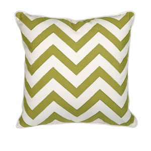 Essentials Green Apple 18-Inch Decorative Pillow