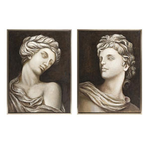 Daniela Framed Oil Painting, Set of 2