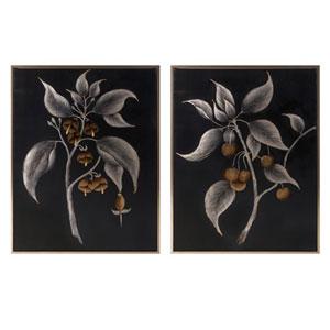 Ebina Framed Oil Paintings, Set of 2