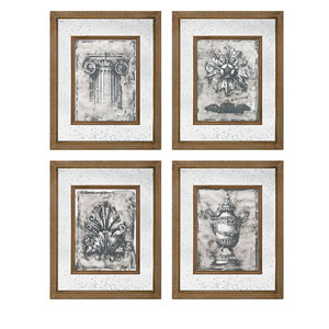 Cordele Mirror Wall Decor, Set of 4