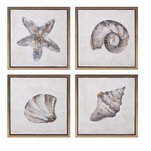 Waterbury Framed Oil Paintings, Set of 4