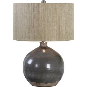 Vardenis Gray Ceramic Lamp