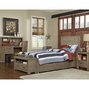 Highlands Driftwood Alex Twin Bed with Trundle