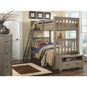 Highlands Driftwood Harper Twin Bunk Bed