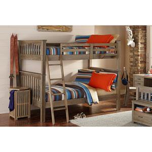 Highlands Driftwood Harper Full Bunk Bed
