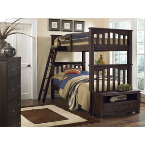 Highlands Espresso Harper Twin Bunk Bed