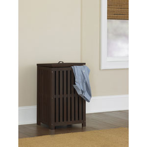 Highlands Espresso Clothes Hamper