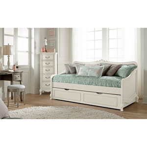 Kensington Antique White Elizabeth Daybed with Trundle
