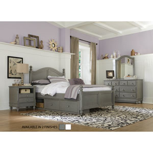 Lake House Stone Payton Arch Full Bed with Storage