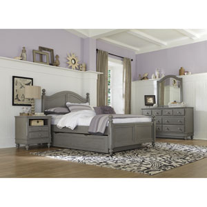 Lake House Stone Payton Arch Full Bed with Trundle