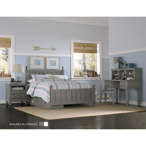 Lake House Stone Kennedy Full Bed with Storage