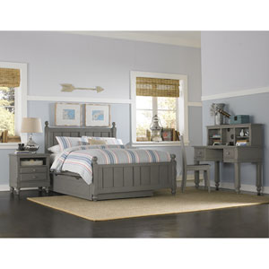 Lake House Stone Kennedy Full Bed with Trundle