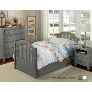 Lake House Stone Adrian Twin Bed with Storage